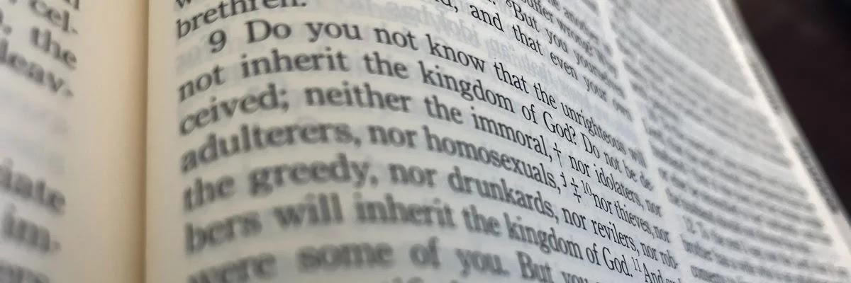 1 Corinthians 6:9-11  Who Will Receive the Kingdom of God?